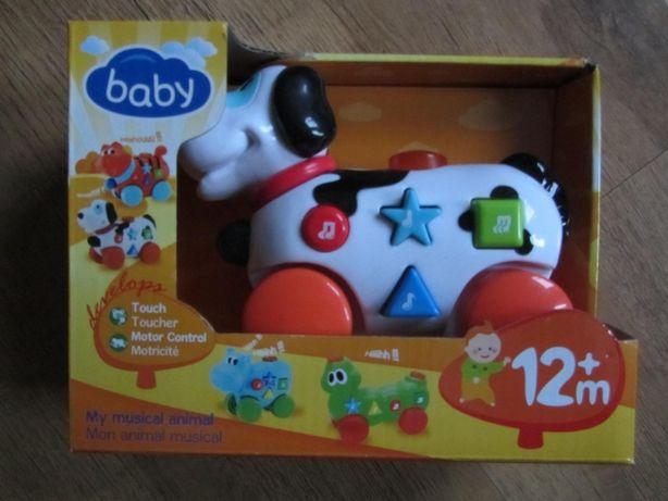 Zabawka 12m+ miesięcy interaktywna baby pies
