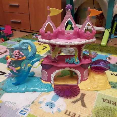 zamek, pałac, dom, pony, syrenki
