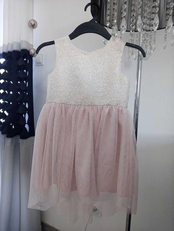 Sukienka tiul rozmiar 116