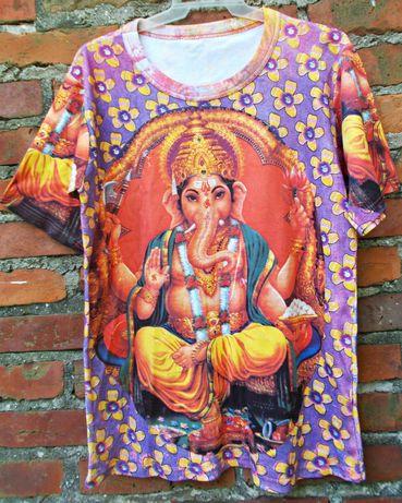 Nowa piekna bluzka z printem