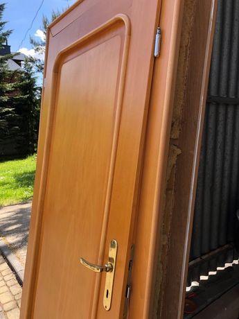 Drzwi drewniane 204x83