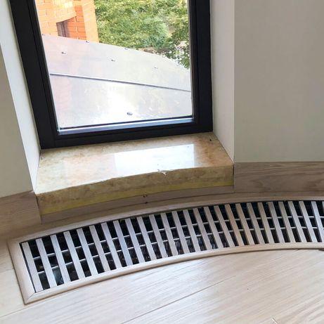 Декоративная решетка для внутрипольного конвектора
