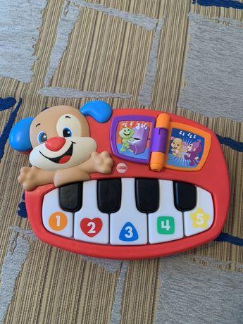 Пианино умный щенок Fisher Price