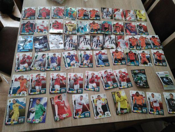 Karty z piłkarzami