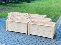 donica drewniana na tuje, drewniane, donice na iglaki 100x50, 50x50