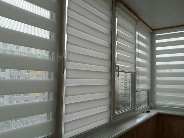 Рулонные шторы ( День-Ночь-Зебра ) Тканевые ролеты
