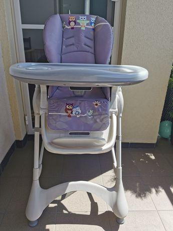 Krzesełko do karmienia caratero Magnus na kółkach