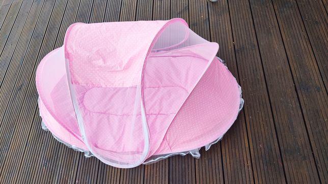 Łóżeczko moskitiera turystyczne dla dziecka niemowlaka