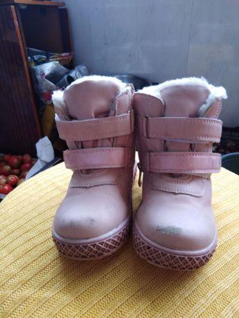 Ботинки зимние на девочку