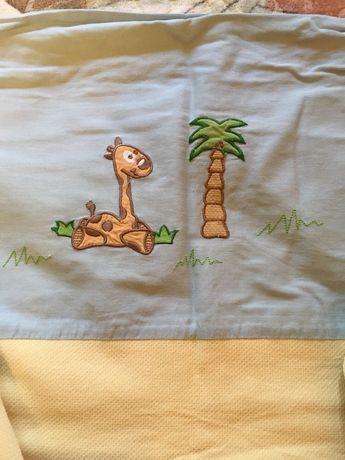 Комплект постельного белья в детскую кроватку feretti италия торг