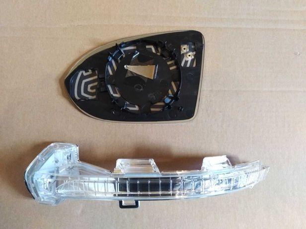 Вкладыш зеркало поворотник Passat B7 B8 CC Jetta Audi USA EUR