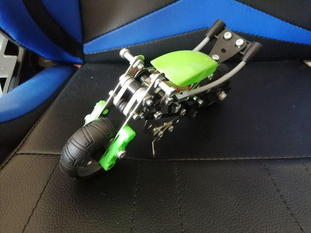 Конструктор Meccano multimodels металлический мотоцикл багги кран