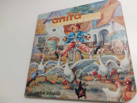 Anita e os animais da quinta livro