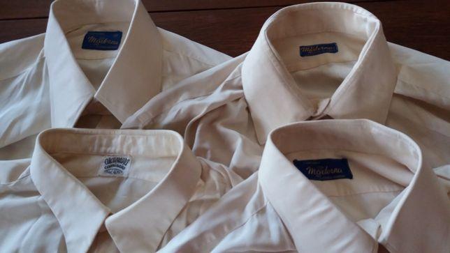 Camisas Seda Natural Homem 38 -Vintage Camisaria Moderna -V.Individual