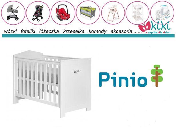 Pinio łóżeczko Marsylia 120/60 mdf białe