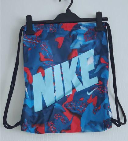 worek nike niebieski oryginalny ściągany pakowany