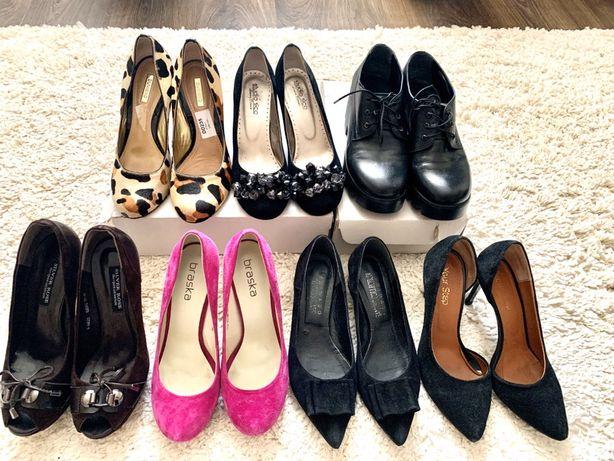 Туфли женские замшевые  (кожанные) 37р + 38р +39р