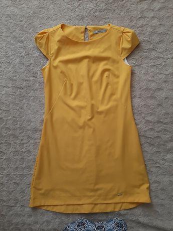 Sukienka żółta Quiosque rozm.36