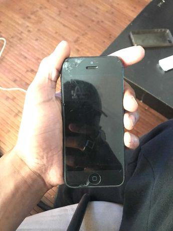 Vendo Iphone 5 cinzento