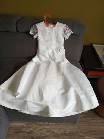 Sukienka komunijna biała