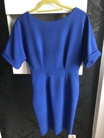 Sukienka RH+ r. 36 chabrowa / niebieska
