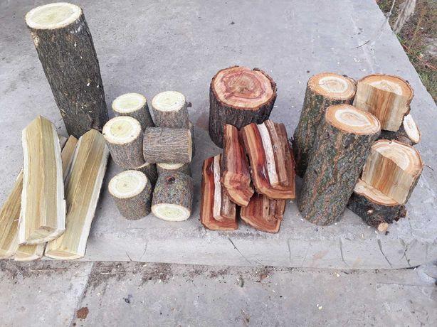 Дрова фруктовых и лесных деревьев для мангала