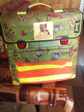 Рюкзак школьный ортопедический с светоотрожающей лентой