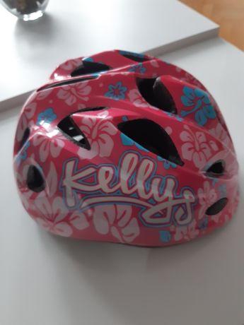Różowy lekki kask rowerowy