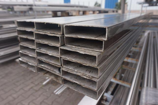 Profil kwasoodporny, nierdzewny 80x20x2mm 6000mm, panel ogrodzenie