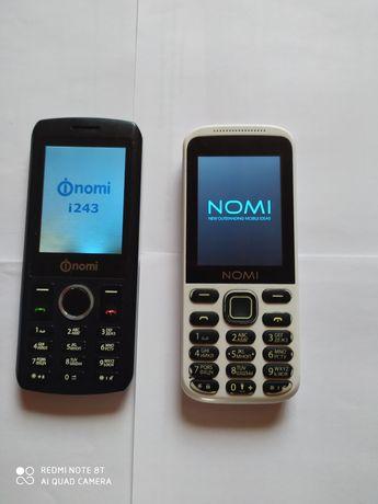Телефоны Nomi i243, Nomi i244