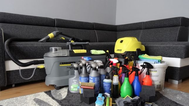 Karcher Toruń, dojazd do klienta :) Pranie dywanów, kanap, tapicerki.
