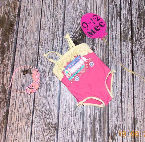 Красивый купальник Miniclub для девочки 9-12 месяцев, 80 см