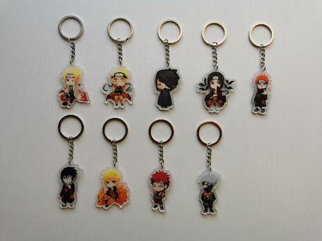 Naruto, breloczki manga, anime, brelok do kluczy