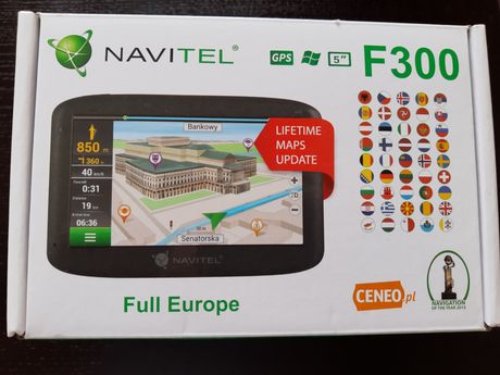Nowa Nawigacja Navitel F300 Full Europe 5''