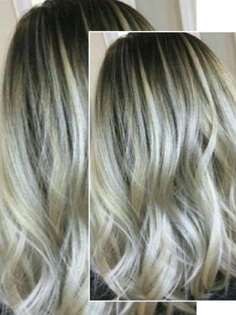 Окрашивание волос. Выход из чёрного в Блонд. Колорист. Балаяж, Омбре
