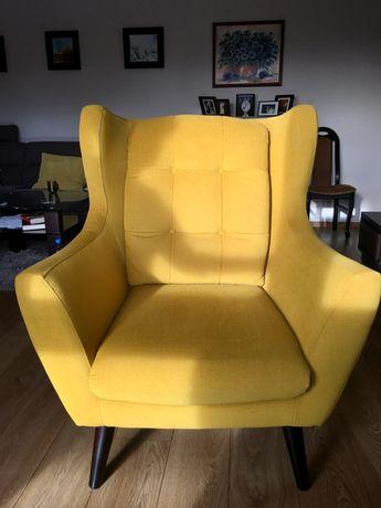 Fotel Henry żółty