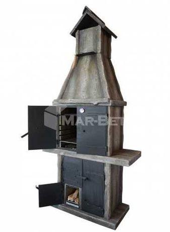 ZS wędzarnia betonowa, grill betonowy, grillo-wędzarnia