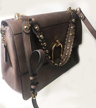 Кожаная сумка, сумка из кожи фирменная  LIU.JO  ACCESSORI Италия