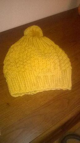 Nowa czapka i szalik komin