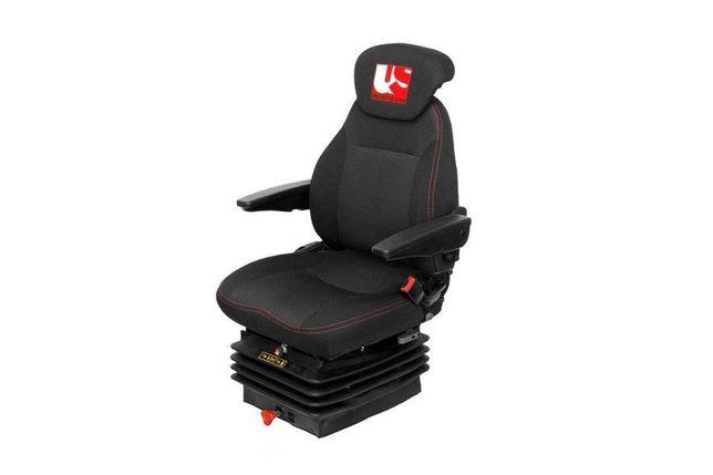 -= NAJTANIEJ =-  Fotel do koparki fotel do koparko ładowarki  fotel operatora maszyny budowlanej