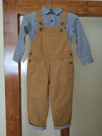 Комплект комбинезон и рубашка