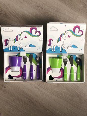 Набір дитячого посуду munchkin детская посуда с чашкой
