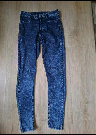 Spodnie jeansy z wysokim stanem H&M
