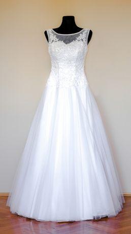 Suknia ślubna Rozmiar 38 Bez uszkodzeń Po praniu