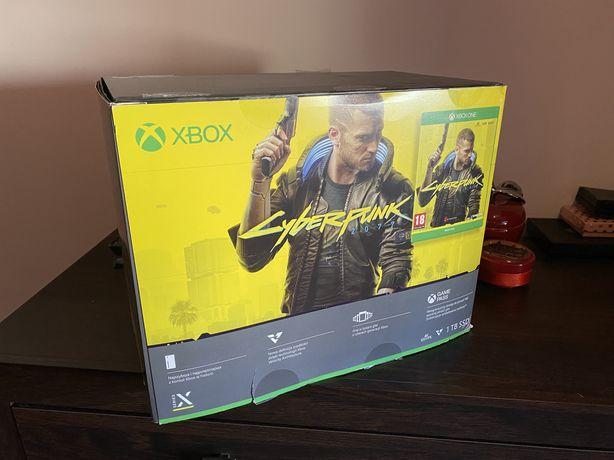 Xbox Series X 4K 1T SSD Gry Whatch Dogs Legion Cyber Punk 2077