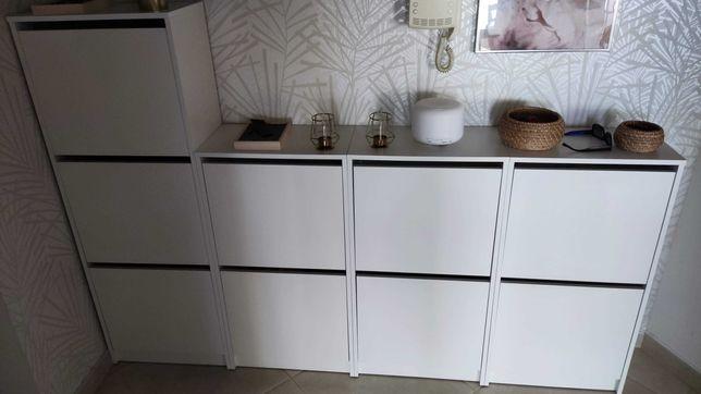 Sapateiras em Branco - Bissa - Ikea