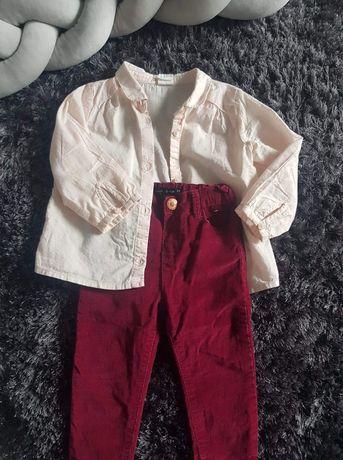 Spodnie sztruksowe 80 Primark