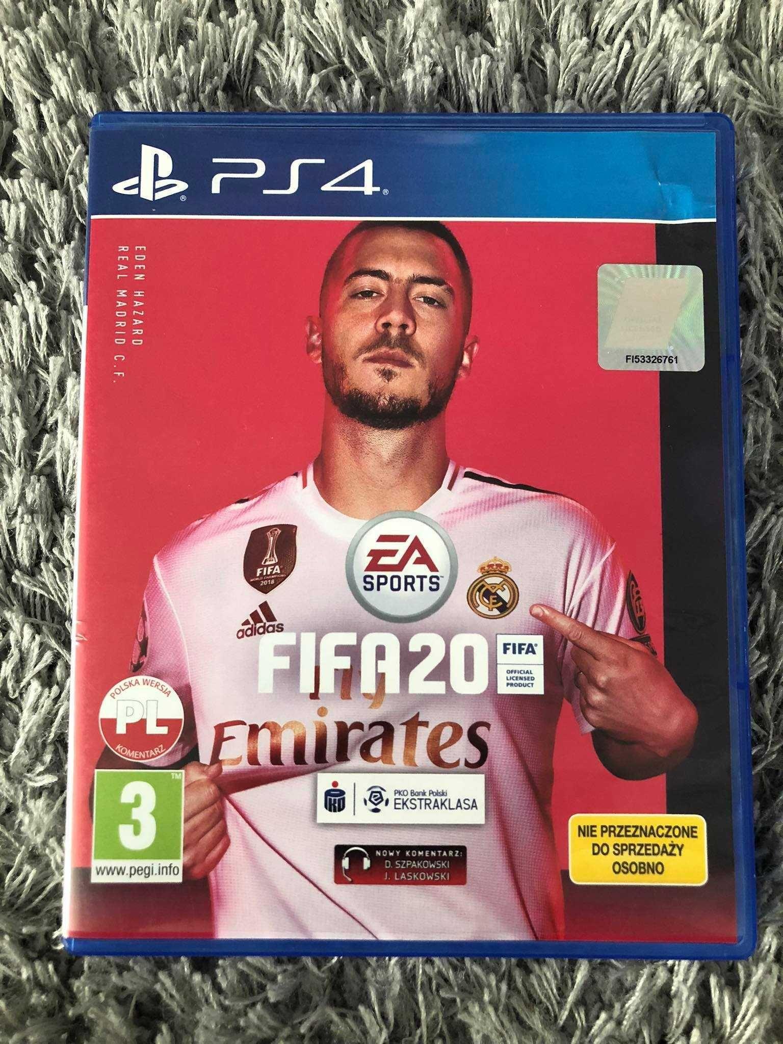 Gra FIFA 20 Sony PlayStation 4 PS4