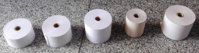 Rolos papel p/ registadora/ impressora/ calculadora