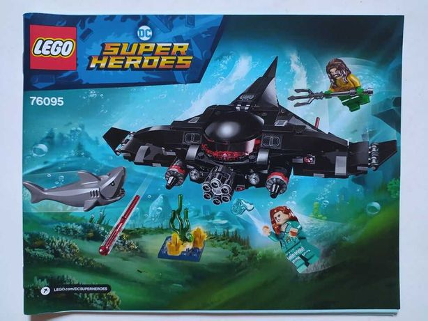 Lego 76095 Aquaman: Black Manta Strike